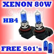 80W Xenon Bulbs HB4 9006 LEXUS IS200 1999-2001 Dip Beam