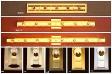 TROY LIGHTING Wall BATH Bar STRIP Polished, Antique BRASS, Chrome NEW 5, 6, 8 Lt