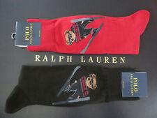 Polo RALPH LAUREN Socks Polo Ski Jumper Bear in Red or Black