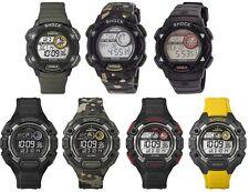 Timex Expedition Shock Digital Mens Watch - Indiglo - 100m - Alarm - Chronograph