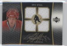 2007-08 Upper Deck Ice #BI-ES Eric Staal Carolina Hurricanes Auto Hockey Card