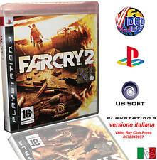 FAR CRY 2 GIOCO NUOVO PER SONY PLAYSTATION 3 PS3 EDIZIONE ITALIANA PRIMA STAMPA