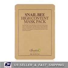 [ BENTON ]  Snail Bee High content Sheet Mask Pack (Choose your option) 1~10pcs