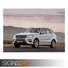 Mercedes Benz Clase M (AB989) cartel de auto-foto Poster Print Art A0 A1 A2 A3 A4
