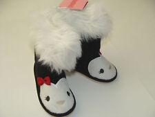 Gymboree Penguin Chalet Girls Size 04 4 Faux Boots NEW