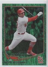 2013 Topps Update Series Emerald Foil #US55 Pete Kozma St. Louis Cardinals Card