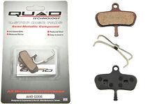 AVID disco CODE Mountain Bike pastiglie dei freni per Quad Semi-Metallico 50% RRP QDP44