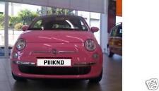 PINK  PINKD  PINKY  Rare Cherished Registration Number