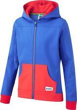 David Luke Girls School Uniform Sweatshirt Guides Hooded Top Royal/Red Pack Of 2
