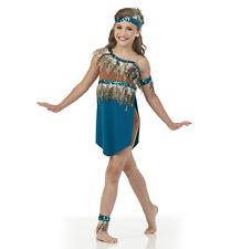 Cherokee Maiden Dance Costume Indian Boy Shorts Unitard Ice Skating Adult XXL