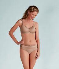 Amoena Lara Satin Padded Non Underwired Mastectomy Bra Nude 44214