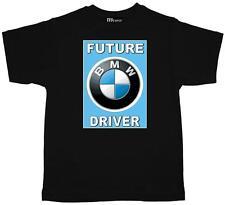 Childrens Kids Tee Shirt  Future BMW Driver quality black cotton Kids T Shirt