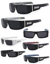 Locs Authentic Gangster Biker Motorcycle OG Style Sunglasses LC33 Bandana Print