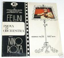 FELLINI/NINO ROTA:LP-PROVA D'ORCHESTRA-COL.SONORA