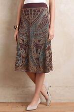 NEW Anthropologie Crochet Lumi Midi Sweater Skirt by Cecilia Prado Size XS, S
