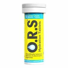 ORS Oral Hydration Salts Lemon Flavour - 12 Tablets