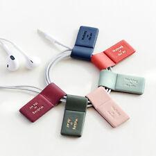 Useful Magnetic Pen Pencil Holder Bookmark Earphone Winder Refrigerator Magnet