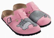Birkis Woodby Clogs 26 Hippo pink Nilpferd rosa 114933 NEU