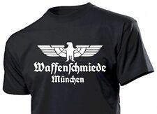 T-Shirt Waffenschmiede München mit Adler Gr 3-5XL Eagle Weapon Blacksmith
