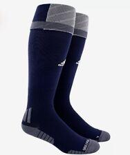 ADIDAS Traxion Premier OTC Navy Blue Grey Soccer Socks NEW S Fits 13c-4y M 5-8.5