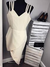 VLabel London Lyle Wrap Front Midi Dress With Cami Straps RRP £68 (AS-24/13)