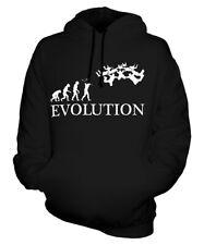 SKYDIVE TEAM EVOLUTION OF MAN UNISEX HOODIE MENS WOMENS LADIES GIFT SKYDIVING