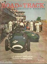 ROAD & TRACK 1958 JULY  LE MANS PREVIEW  PEUGEOT/HILLMAN TESTS