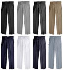 JL36 Johnnie Lene Boys Flat Front Slacks Slim Fit Dress Pants