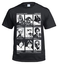 Nuevo Star Wars Galactic clase de 77 High School/YODA/Jedi/Solo/rebelmens/Top