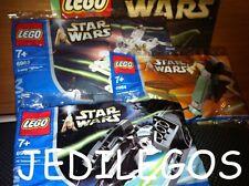 LEGO STAR WARS MINI SETS 6963 6964 6965 NEUF NEW Slave 1 X-Wing Tie Interceptor