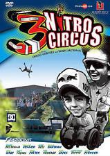 Nitro Circus 3 Motocross Travis Pastrana DVD Video, Good DVD, Nitro Team, Godfre
