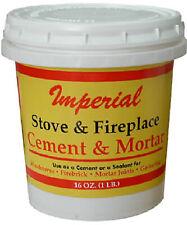 Imperial Mfg Group Usa KK0283-A 16-oz. Gray Hi-Temp Stove/Furnace Cement