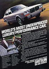 1978 Datsun 810 car - Classic Vintage Advertisement Ad PE95