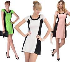 Damen Minikleid Kleid Dress Shaping Sommerkleid Coctailkleid  Gr, S M 36 38, 848