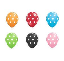 3 Packs of 30cm Polka Dot Latex Balloons - 6 Pack