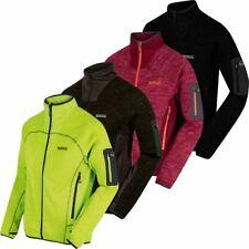 Regatta 2017 Mens Collumbus III Marl Knit Effect Stretch Fleece Jacket