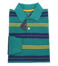 Tommy Hilfiger Children Big Boy Kid Long Sleeve Stripe Rugby Shirt - $0 Ship