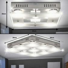 LUXE LED PLAFOND Lumières Intérieur Verre couloir Spot Chrome lampes EEK A+ Wofi