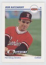 1991 Line Drive Pre-Rookie AA #258 Rob Katzaroff Harrisburg Senators Rookie Card