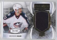 2015-16 Upper Deck Premier Swatches Memorabilia #PS-BS Brandon Saad Hockey Card