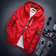 Men's Slim Outwear Korean Zip Tops Jacket Autumn Casual Coat Fashion