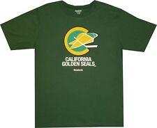 Golden Seals Vintage Throwback Reebok Dark Green T Shirt