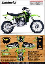 1982-2002 KAWASAKI KX 60 Bad Boy Motocross Graphics Dirt Bike Graphics KIT