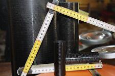 Lavorazione in fibra di carbonio tubo clitber int. 18 est 20 lung. 1000
