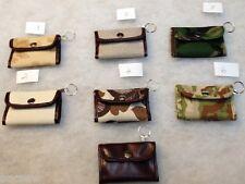 ITA Canvas Small Fold up ID POCKET WALLET +zip pocket /Credit card plus slips