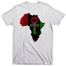 African T-Shirt Black History Month Africa Angela Davis Black Panthers Kemet III