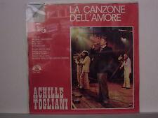 ACHILLE TOGLIANI disco LP 33 LA CANZONE DELL' AMORE 5 stampa ITALIANA sigillato