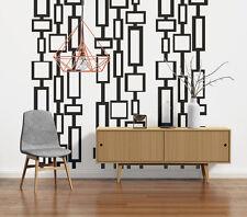 Mid Century Modern Decor, Modern Wall Decals, Mid Century Modern Wall Art, Retro
