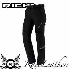 Richa Pheonicia Negro, Blanco Impermeable Mujer Pantalones de Moto Shrt Leg