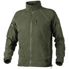 Helikon Alpha Tactical Grid Fleece Military Cadet Combat Heren Jacket Olive Gree